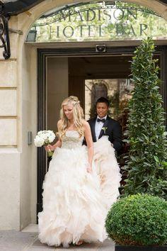 wedding madison hotel bar   Image by WeddingLight Paris