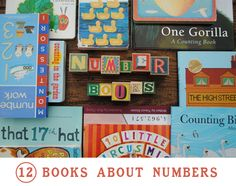 12 great books about numbers and counting.