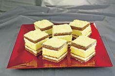 """Încearcă o prăjitură """"Bucuria oaspeţilor"""" cu foi fragede şi cremă pufoasă. O reţetă de maestru, pe care o poate face oricine şi potrivită la orice sărbătoare. Romanian Desserts, Romanian Food, Romanian Recipes, Layered Desserts, Orice, Dessert Bars, Cornbread, Caramel, Bakery"""