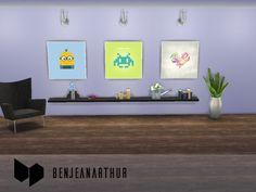 BenJeanArthur's Flat design paintings