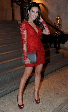 Mariana Rios - veste Patricia bonaldi - Lindo de viver esse vestido