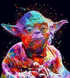 """Lance Harverye on Twitter: """"Colorful Star Wars Artwork #DarthVader ..."""