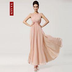 Yalun™ High Quality Women's Backless  Slim Chiffon Spaghetti Strap  Dress – GBP £ 16.85