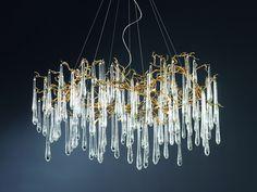 Serip, organic lighting chandeliers inspired by Nature