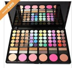 """Fashion 78 Colors Pro Eyeshadow Palette Makeup Powder Cosmetic Brush Kit Box With Mirror Women Make Up Tools Eye Shadow."""" The kiss pop colors are gorgeous"""" by R&B Artist Queen Princessia Eye Makeup Brushes, It Cosmetics Brushes, Makeup Brush Set, Eyeshadow Makeup, Makeup Cosmetics, Makeup Palette, Eyeshadow Palette, Make Up Tools, Golden Makeup"""
