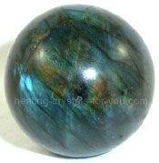 Healing Third Eye Chakra crystals:Labradorite Crystal Ball