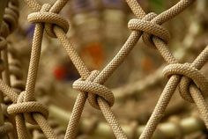 Paracord netting.