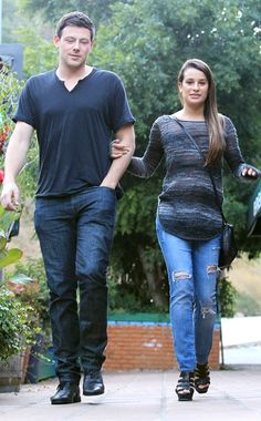 Cory Monteith, Lea Michelle