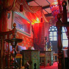 Moroccan tea shop