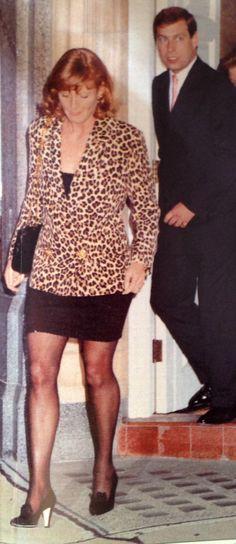 Sarah Ferguson and Prince Andrew 1992