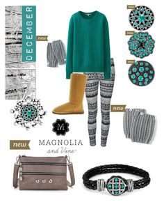 """""""December Birthstone"""" by magnolia-and-vine-melissa ❤ liked on Polyvore featuring Ally Fashion, Uniqlo and UGG Australia"""