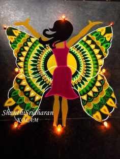 #womensday #womenempowerment #Beboldforthechange #internationalwomensday #rangoli #kolam #butterfly