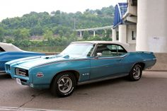 1969 GTO Judge convertible in Crystal Turquoise (is it real?)