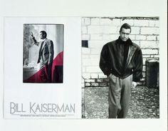 ADV. Campagna stampa per il marchio di abbigliamento uomo Bill Kaisermann Art director: Mauro Giammarini Photo: Tiziano Magni Agenzia: Sevenpromotion, Milano