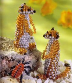little meerkats.........many patterns in russian