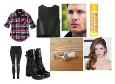 """""""Deanna Winchester (Supernatural)"""" by auna-smith ❤ liked on Polyvore featuring Abercrombie & Fitch, Fendi, Topshop, yeswalker and Burt's Bees"""