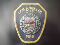 OLD LOS ANGELES CITY FIRE DEPT PATCH CA CALIFORNIA POLICE EMS EMT PARAMEDIC