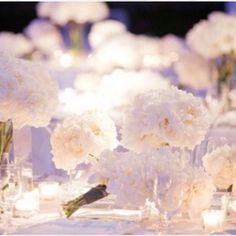 Diner en Blanc flowers..
