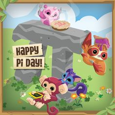 We're wishing every Jammer in Jamaa a very happy PI DAY! This cool day only comes around once a year, so be sure to check out the amazing PI ITEMS and ACCESSORIES in Jamaa!  Pi on Jammers! and PLAY WILD!