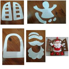 Ideas para navidad Easy Christmas Ornaments, Christmas Room, Christmas Sewing, Christmas Cards To Make, Simple Christmas, Christmas Crafts, Diy Weihnachten, Xmas Decorations, Diy And Crafts