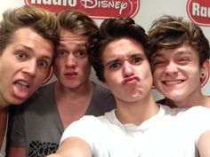the vamps, NOT 1D or 5SOS related but - look at ttheir cute faces