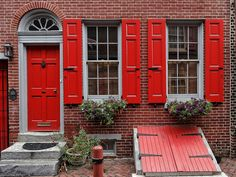 Timberlane Shutters on Elfreth's Alley