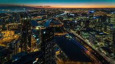 Image Sequence captured with a Sony Alpha from the Eureka Skydeck in Melbourne. Exposures captured every Sony Alpha A7s, Sony A7s, Image Sequence, City Photo, Tech, Videos, Technology