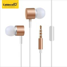 HUAST In Ear Earphone for phone High Quality Earbuds ear buds Piston Ecouteur Fone De Ouvido Microphone For Iphone Xiaomi Earbuds With Mic, Headphones With Microphone, Bluetooth Headphones, In Ear Headphones, Earphone Case, Noise Cancelling, Cell Phone Accessories, Bass, Metal