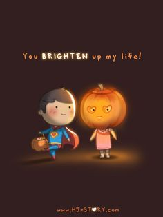 YOU BRIGHTEN UP MY LIFE | HJ Story