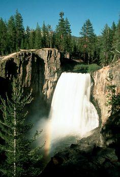Rainbow Falls, Devils Postpile Natl Monument,   Mammoth Lakes, CA   © Marsha K. Russell