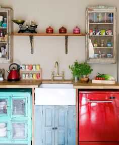 Vintage Kitchen Accessories by Scaramanga