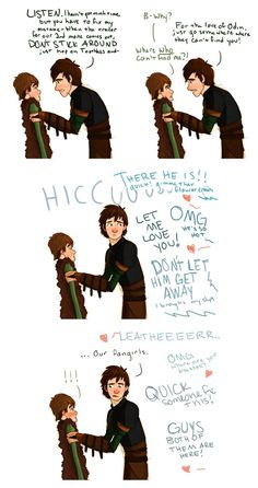 Both hiccups and Fangirls. :P I don't normally pin things like this but this was too good to pass up!