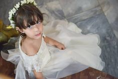 Childhood means simplicity. Look at the world with the child's eye - it is very beautiful. Girls Dresses, Flower Girl Dresses, Wedding Story, Photographers, Wedding Photography, Eyes, World, Wedding Dresses