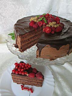 Čokoladna fantazija - najlepša i najukusnija čokoladna torta! Sjajan recept za tortu za sve prilike! #recepti #kuvar