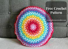 Granny Circle Cushion Pattern