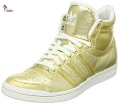adidas Originals Top Ten Hi Sleek W, Baskets mode femme, Or (G64573), 42 2/3 - Chaussures adidas (*Partner-Link)