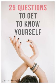 How well do you truly know yourself? Answer these 25 questions to gain a greater understanding of who you really are! Know who you are, know yourself, understand yourself, self exploration, self understanding