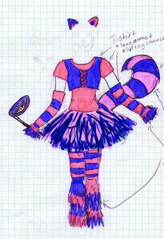 The Cheshire Cat costume by Hoejfeld.deviantart.com