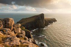Neist point sunset - Waterstein, Isle of Skye, United Kingdom by Bart Heirweg