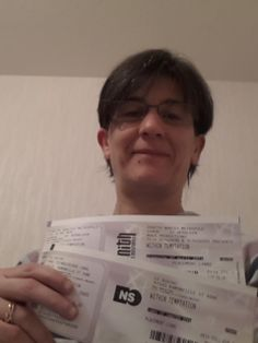#WTworldtour :See you on the road Toulouse  22 April and my new ticket for Nantes  27 April