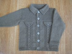 Ravelry: Project Gallery for Denim-style Jacket pattern by Sirdar Spinning Ltd.