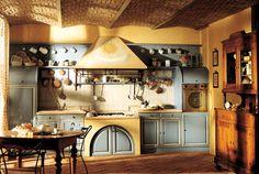 Marchi Group - Granduca Cucina country provenzale, in muratura - Cucina pratica e naturale