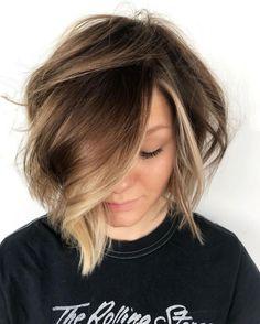 Subtle Face-Framing Balayage For Brown Hair
