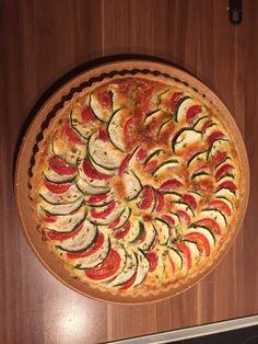 Tomaten Zucchini Quiche