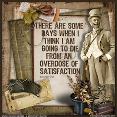 Satisfaction..  Post Note Quote by Scrapbookgraphics