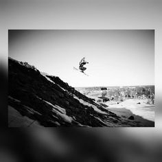 Dropping cliffs #skiing #freeskiing