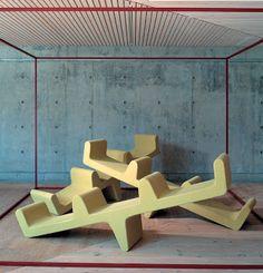 Neudecor: Furniture By Louise Campbell   Seesaw   Erik Jørgensen