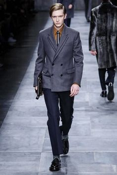 Fendi Menswear Fall Winter 2015 Milan