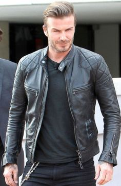 DAVID BECKHAM LEATHER JACKET IN BLACK David Beckham has been known for the most famous English football team player. Who is well known in the fashion industry as a fashion symbol among Men, any thing he wears becomes fashion signature. Every individual wants look exactly like him, not only for his dressing but his great personality as well . Stinson Leathers has made this David Beckham Leather Jacket inspired by david beckham for all the fans of David Beckham all over the world. The David…