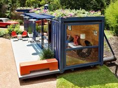 Homes from shipping containers